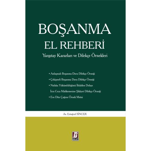 BOŞANMA EL REHBERİ (Ağustos 2021)